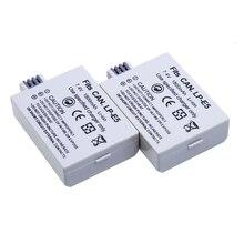 LP-E5 LPE5 7.4V 1800mAh rechargeable Battery LP E5 Camera batteries for Canon EOS 450D 500D 1000D KISS X2 X3 F Rebel XS XSi T1i