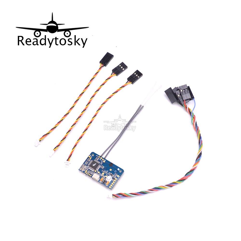 New Flysky X6B 2.4G 6CH i-BUS PPM PWM Receiver for AFHDS i10 i6s i6 i6x i4x Transmitter FPV Quadcopter