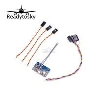 New Flysky X6B 2 4G 6CH I BUS PPM PWM Receiver For AFHDS I10 I6s I6