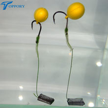 Toppory 12mm Pop Up Scented Boilies Floating Smell Lure Corn Flavor Artificial Baits Hair Rig Terminal Tackle Carp Fishing(China)
