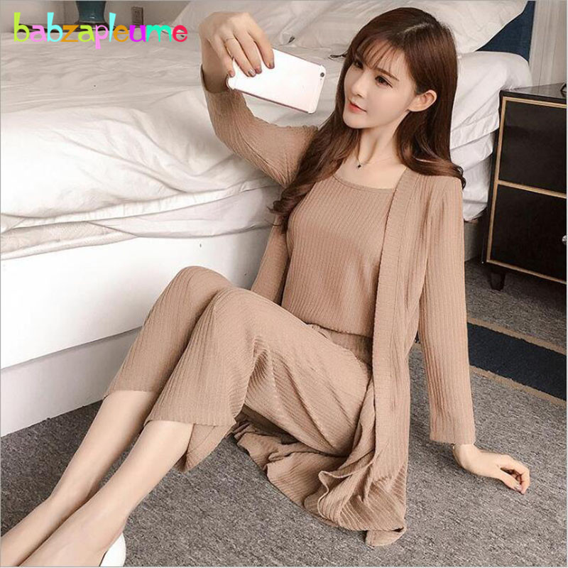 3PCS/Spring Autumn Maternity Clothes Long Sleeve Pregnant Women Coat+T-shirt+Pants Fashion Pregnancy Nursing Clothing Set BC1645