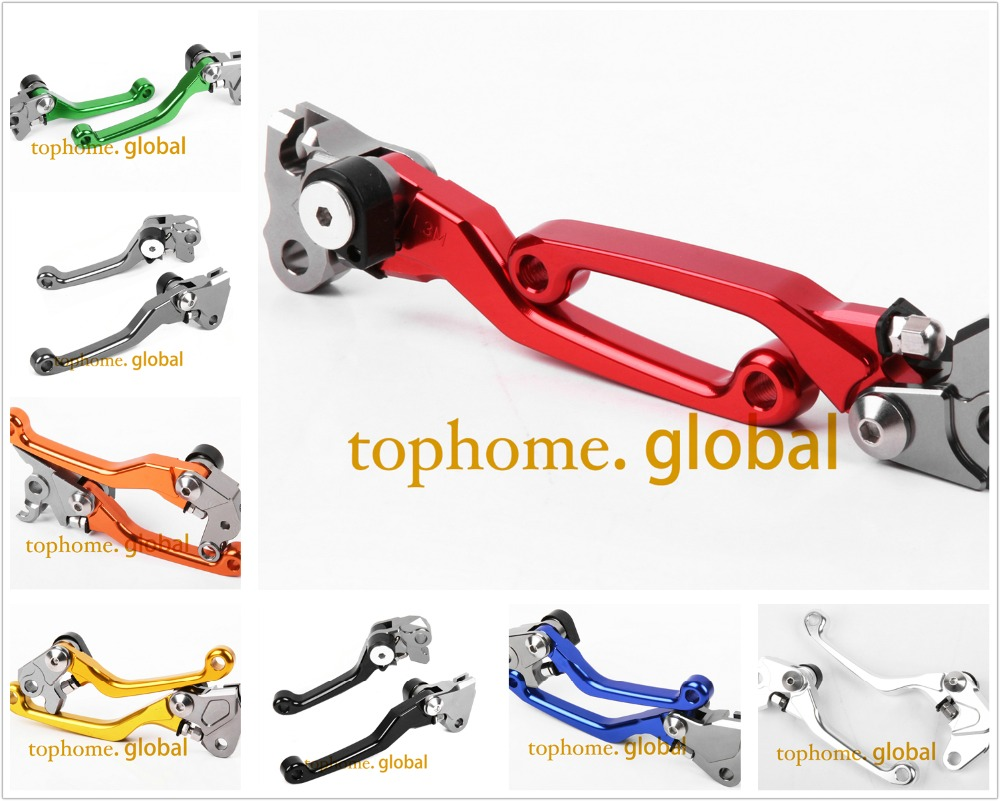 For GAS GAS EC 2T 2000 - 2017 Pivot Brake Clutch Levers CNC 2016 2015 2014 2013 2012 2011 2010 2009 2008 2007 06 05 04 03 02 01 2016 cnc pivot dirt bike adjustable clutch brake levers for yamaha yz250fx 2015 2016 yz426f 450f 2009 2016 yz250f 2009 2016 2015
