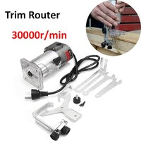 New Multi Function DIY Home 300W Electric Wood Power Trim Router 220V 6mm 1 4 Bit