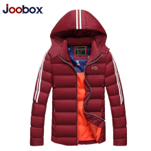 JOOBOX Winter Jackets Men 2017 Brand Clothing Thick Warm parka hombre Hooded Down Jacket and Coat jaqueta masculina inverno