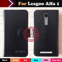 Hot!! Leagoo Alfa 1 Case Factory Price 6 Colors Dedicated Leather Exclusive For Phone Cover+Tracking