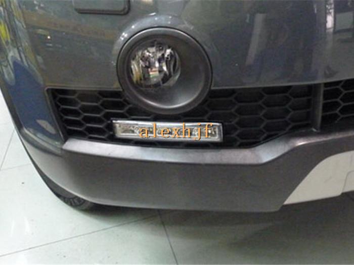 July King LED Daytime Running Lights DRL with Fog Lamp Cover LED Fog Lamp case for Chevrolet Captiva 2008~2010, Fast Shipping стоимость