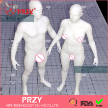 2017 PRZY Silicone MOULD Exclusive men and women body mold human clay silicone Ruantao