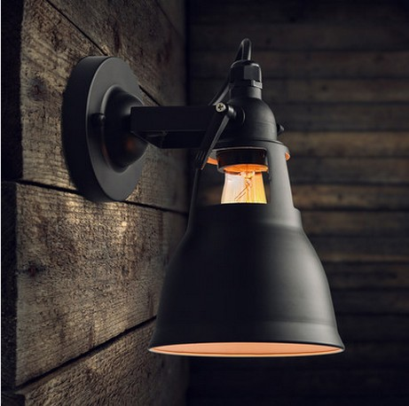 loft style iron vintage vintage wall light fixtures industrial wind edison wall wall. Black Bedroom Furniture Sets. Home Design Ideas