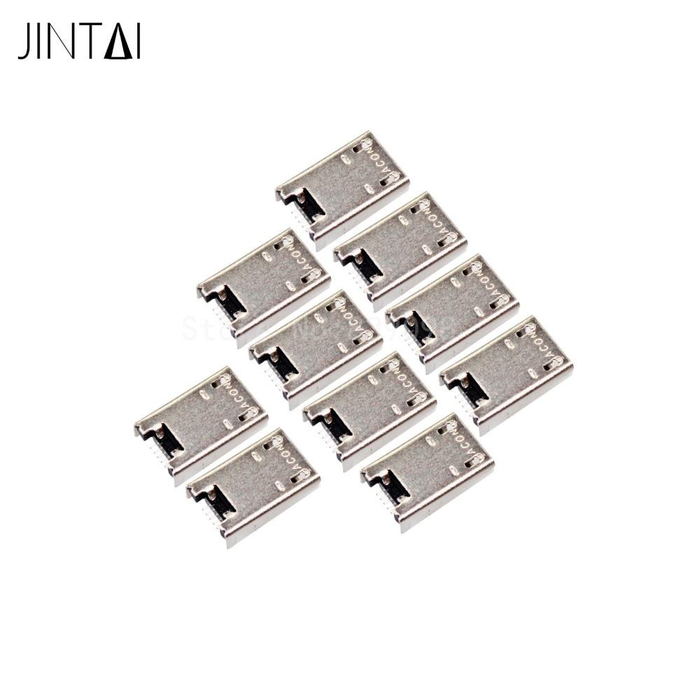 100% new LOT OF jintai Micro USB Charging Port CONNECTOR For ASUS MEMO PAD 10 ME102A K001 ME301T ME302C ME102A-A1-PK Tab jintai usb charging port flex cable board connector for lenovo yoga tab 2 10 1 b8080 yoga 10 b8080 f