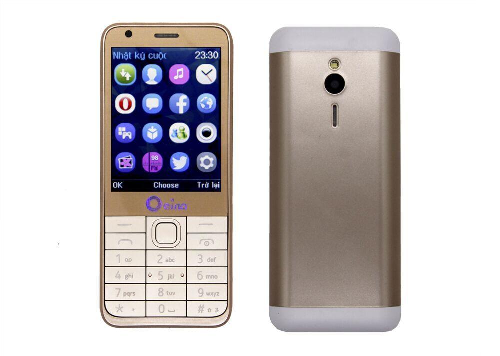 Цена за 2017 Продвижение OEINA 230 4SIM Телефон Четыре Диапазона Квада СИМ карта 4 SIM Bluetooth MP3 MP4 FM Камеры 2.8 Дюймов телефон