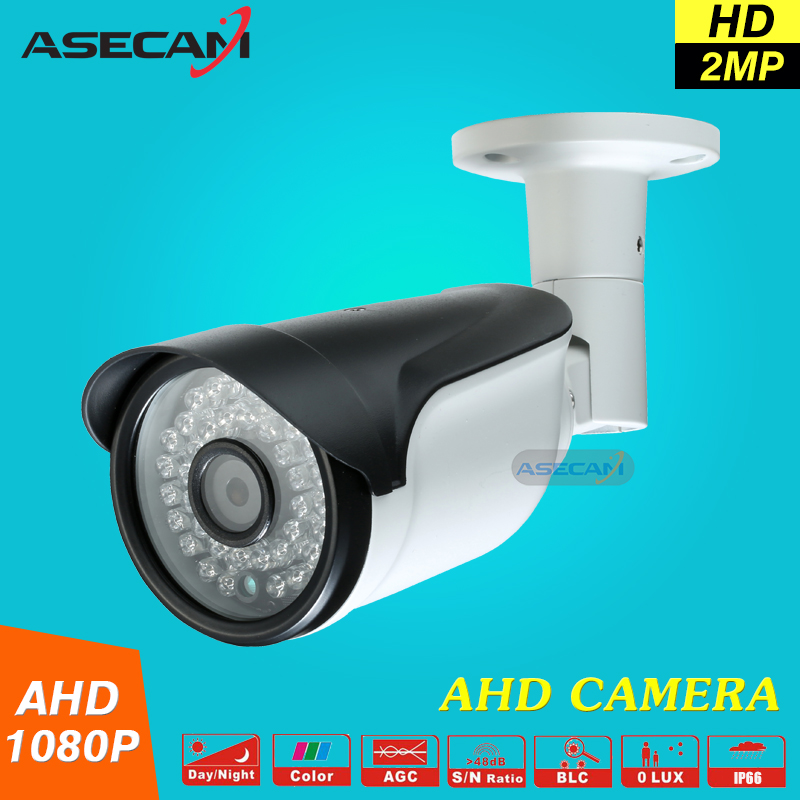 New 2MP 1080P CCTV AHD Camera AHDH System Security Outdoor Waterproof Bullet 36*leds infrared Night Vision Surveillance new cctv ahd hd 960p surveillance waterproof outdoor metal bullet security camera infrared night vision 50meter