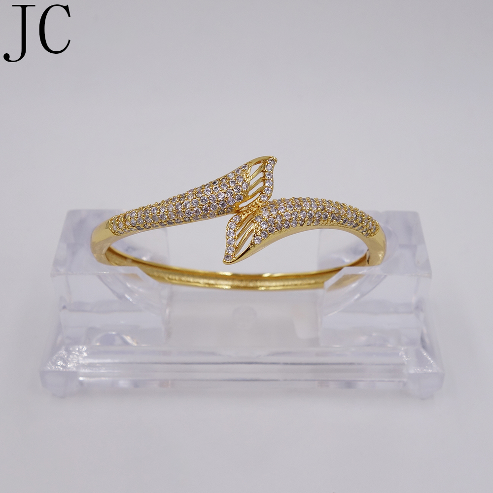 Bracelet & bangles for women gold color Cubic zirconia Simple Bangle New design fashion Jewelry Free shipment