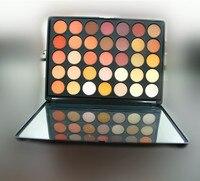 35 Color Nude Makeup Brand Eyeshadow Palette Makeup Palette Urban Metal Matte Bronzer Chocolate Bars Korean