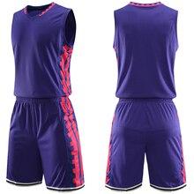 Индивидуальный номер Дети взрослый колледж баскетбольные майки из джерси баскетбольный спортивный костюм для молодежи шорты костюм Индивидуальный печать сделано