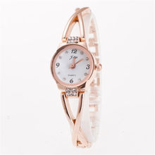 Bracelet Watch Women Fashion Luxury Designer Dress High Quality Stainless Steel Strap Silver Gold Rose Gold Quartz Wristwatch Fi(China)