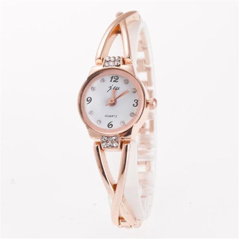 Bracelet Watch Women Fashion Luxury Designer Dress High Quality Stainless Steel Strap Silver Gold Rose Gold Quartz Wristwatch #W