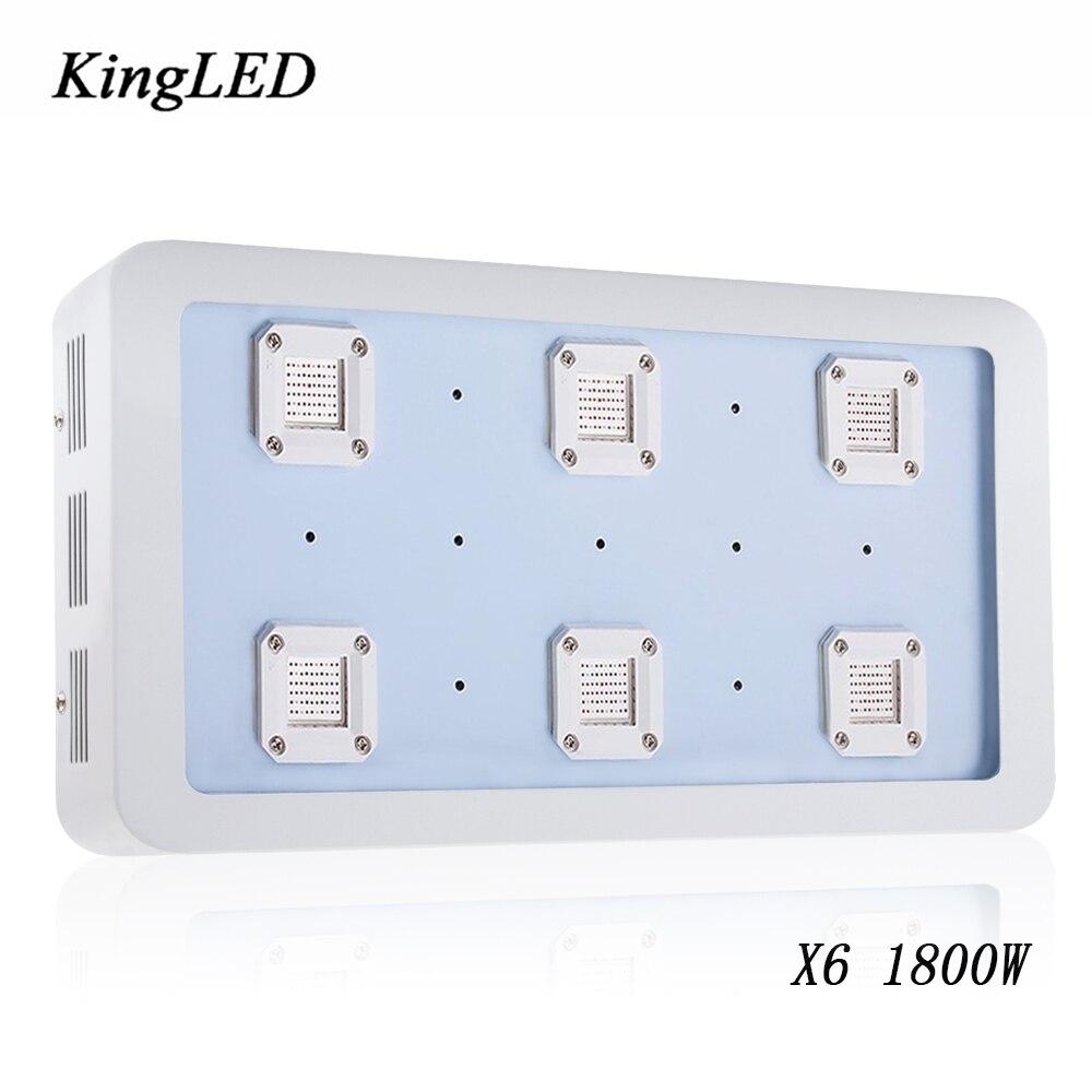 c24c7743854 Bestva X6 1800 W LED crecen el espectro completo ligero para el invernadero  de INTERIOR PLANTAS hidropónicas crecimiento floración alto rendimiento LED  ...