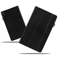 High Quality Folio Genuine Leather Case Cover For Lenovo P8 Tab3 Tab 3 8 Plus TB