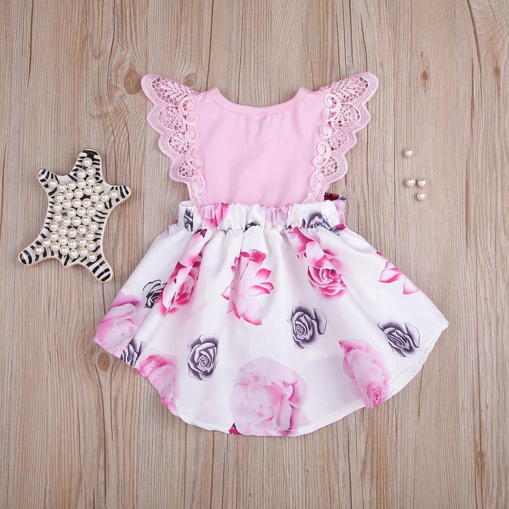 Girls' Clothing Baby Girl Clothes Infant Toddler Baby Kids Dresses For Girls Girls Dress Denim Sundress Outfits Vestido Girls Dress Dropshipping