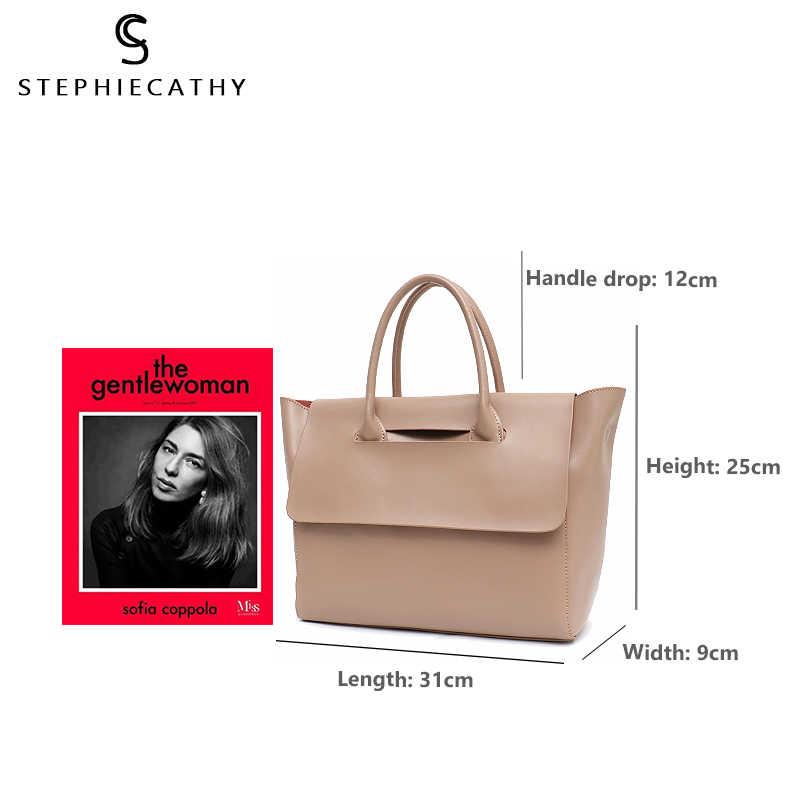 Sc Fashion Brand Leather Lady Totes Vrouwen Trapeze Tassen Schouder & Crossbody Bag Vrouwelijke Grote Flap Echt Lederen Handtas & baby Bag