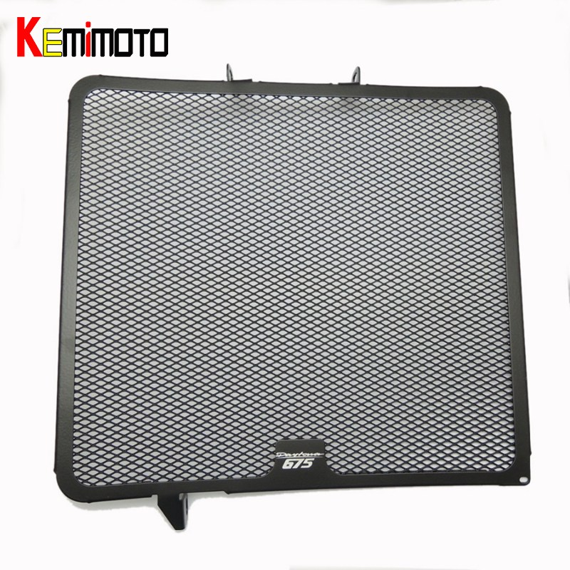KEMiMOTO for Daytona 675 Motorbike Radiator Grille Cooler Guard for Triumph 675 for daytona 2006 2007 2008 2009 2010 2011 2012 aluminum alloy radiator for ktm 250 sxf sx f 2007 2012 2008 2009 2010 2011