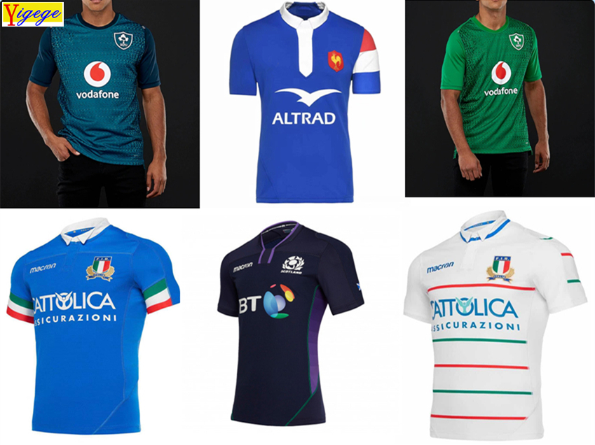 Best Quality 6 nations League rugby Jersey 2019 scotland france italy Ireland rugby Jerseys League shirt singlet Jacket s-3xl Best Quality 6 nations League rugby Jersey 2019 scotland france italy Ireland rugby Jerseys League shirt singlet Jacket s-3xl