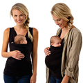 2018 New Kangaroo T-Shirt breastfeeding Cover Mother Mommy's outdoors Hold baby breast nursing Clothing Matching Family Clothing