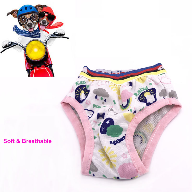 Super Soft Pet Female Dog Physiological Pants Courtesy Belt Anchor Style Anti-harassment Physiological Band for Female Male Dogs