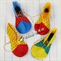 Взрослый Хэллоуин клоун обувь клоун обувь клоун обувь смешные ботинки