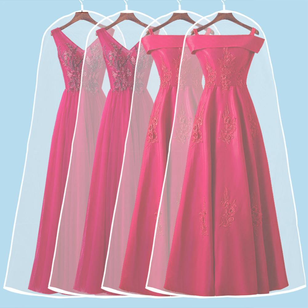 Wedding Dress Transparent Cover Storage Display Bags Dustproof ...