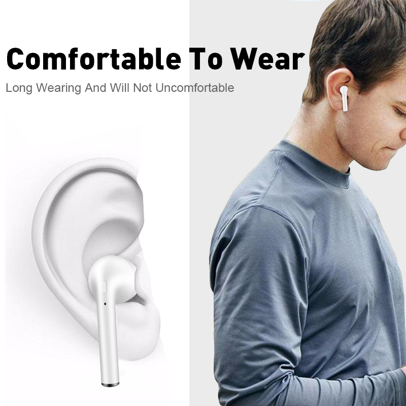 i10 xs tws Wireless Bluetooth 5 0 Earphone i10 tws Stereo Earbuds Headset  with Charging Box for Apple iPhone xiaomi