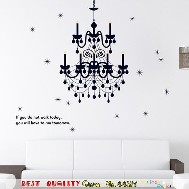 Grand Kronleuchter Licht Möchtest Sterne Wandaufkleber Dekoration,  Wandkunst Papier Handwerk Startseite Decals Vinyl Kunst Wörter