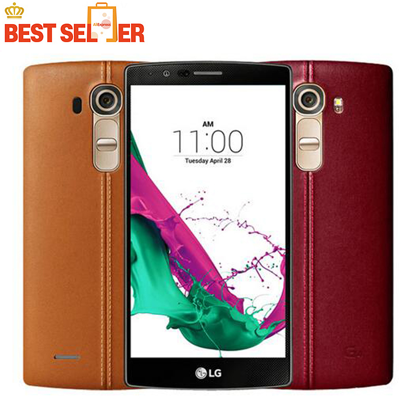 Original Unlocked LG G4 H818 H810 H811 H815 EU 32GB ROM 3GB RAM 4G LTE 5.5 Inch