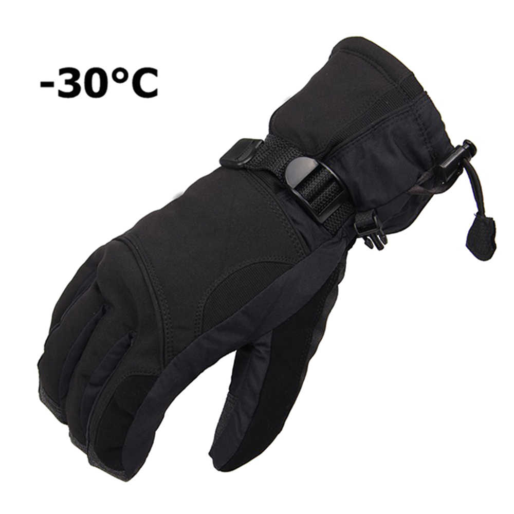 Men Women Winter Ski Gloves Sports Waterproof Gloves -30 Degree Warm Riding snowboard gloves Motorcycle Snow thermal Fleece