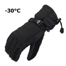 Men Women Winter Ski Gloves Sports Waterproof Gloves 30 Degree Warm Riding snowboard gloves Motorcycle Snow