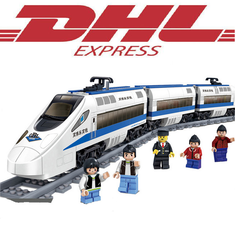 KAZI 415Pcs Technic Figures Motor China Railway High-Speed Model Building Kits Blocks Bricks Toy For Children Compatible Gift hot fast furious speed championships building block racing driver figures super sports car lepins model bricks toy for kids gift