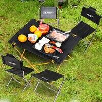 야외 캠핑 휴대용 접이식 테이블 항공