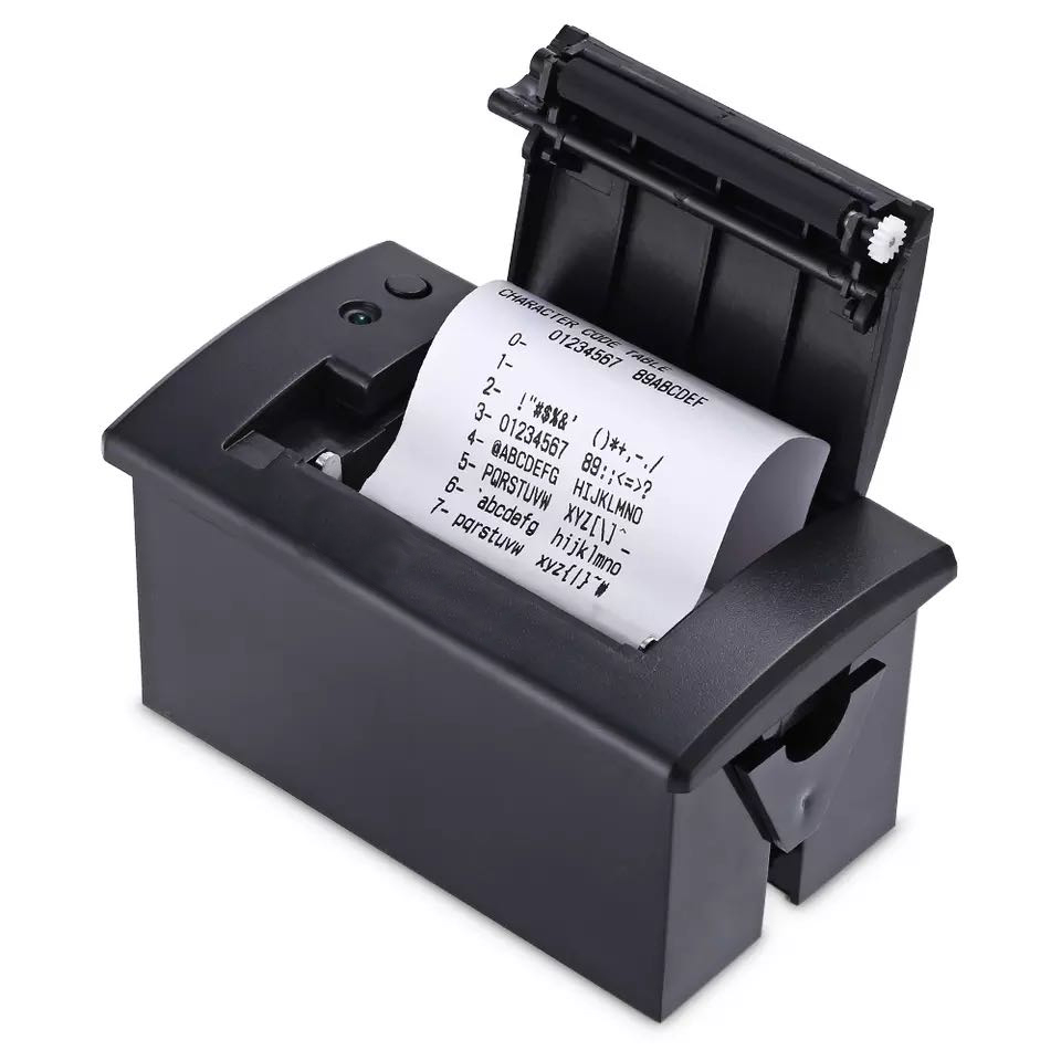 58mm Mini Thermal Printer Embedded POS Receipt Thermal Printer With Interface  RS232 / TTL Use For 5v-9v