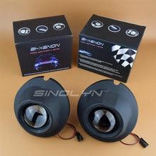 SINOLYN Водонепроницаемый Туман свет лампы HID автомобиля объектив проектора биксенон бифокальные вождения модернизации DIY для Toyota RAV4/Land Cruiser DJ200