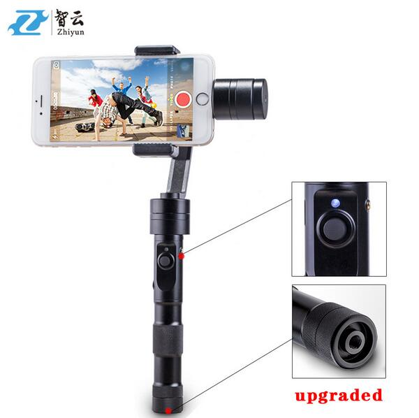 Free DHL Zhiyun Smooth C + Plus 3 Axis brushless handheld stabilizer gimbal Zhiyun Z1 Smooth C VS Dji Osmo Mobile for Iphone