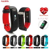 Спортивные P1 smart bluetooth браслет сердечного ритма Мониторы IP67 Водонепроницаемый Приборы для измерения артериального давления smartband для смартфонов для взрослых