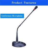Bil ED 990 Professional Flexible Gooseneck Condenser Microphone Desktop Standing Conference Microphone High Sensitivity