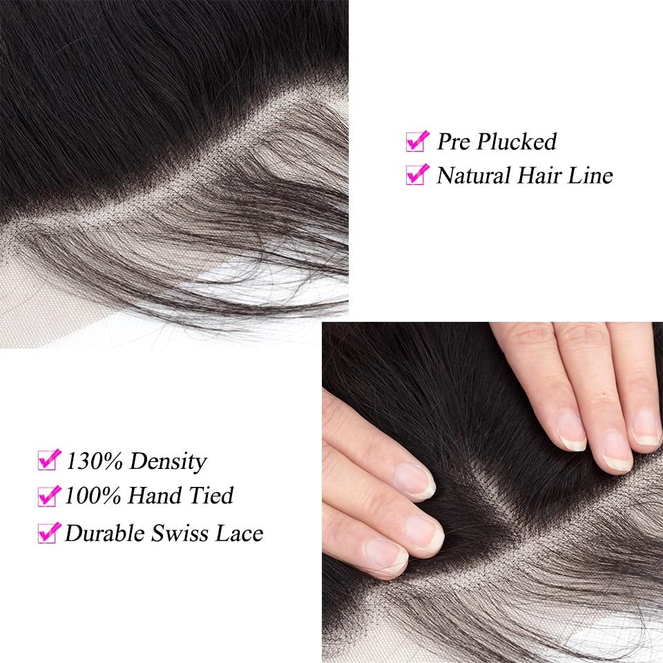 Peruvian hair bundles with closure (2)