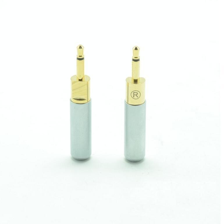 MLLSE 10Pairs Lot DIY Headphones Audio Cable Connector Pin Adapter Plug Repair For HD700 Heaset