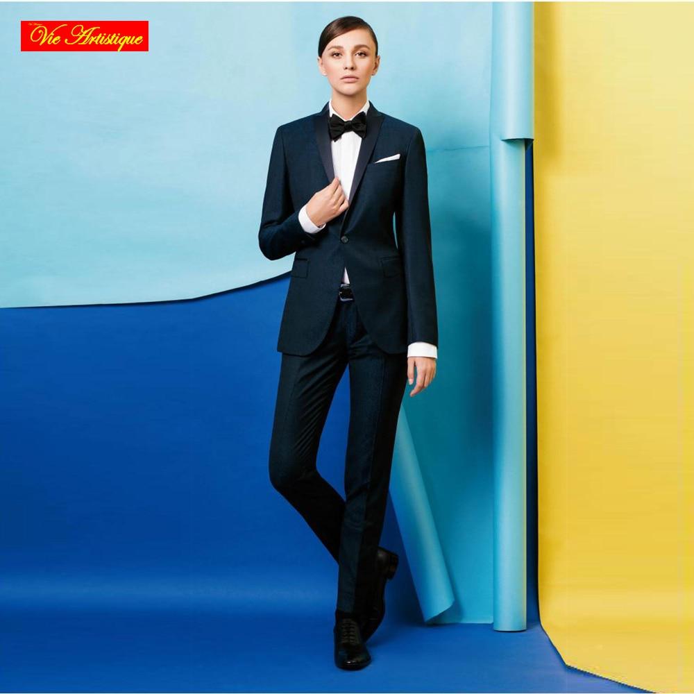 VA 2017 women\'s slim fit business formal dress suit women trouser ...
