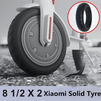 Xiaomi Electric Scooter Tires 8 1 2x2 Tubeless Wheel Tyres Solid Tyre Inflation Free For Xiaomi