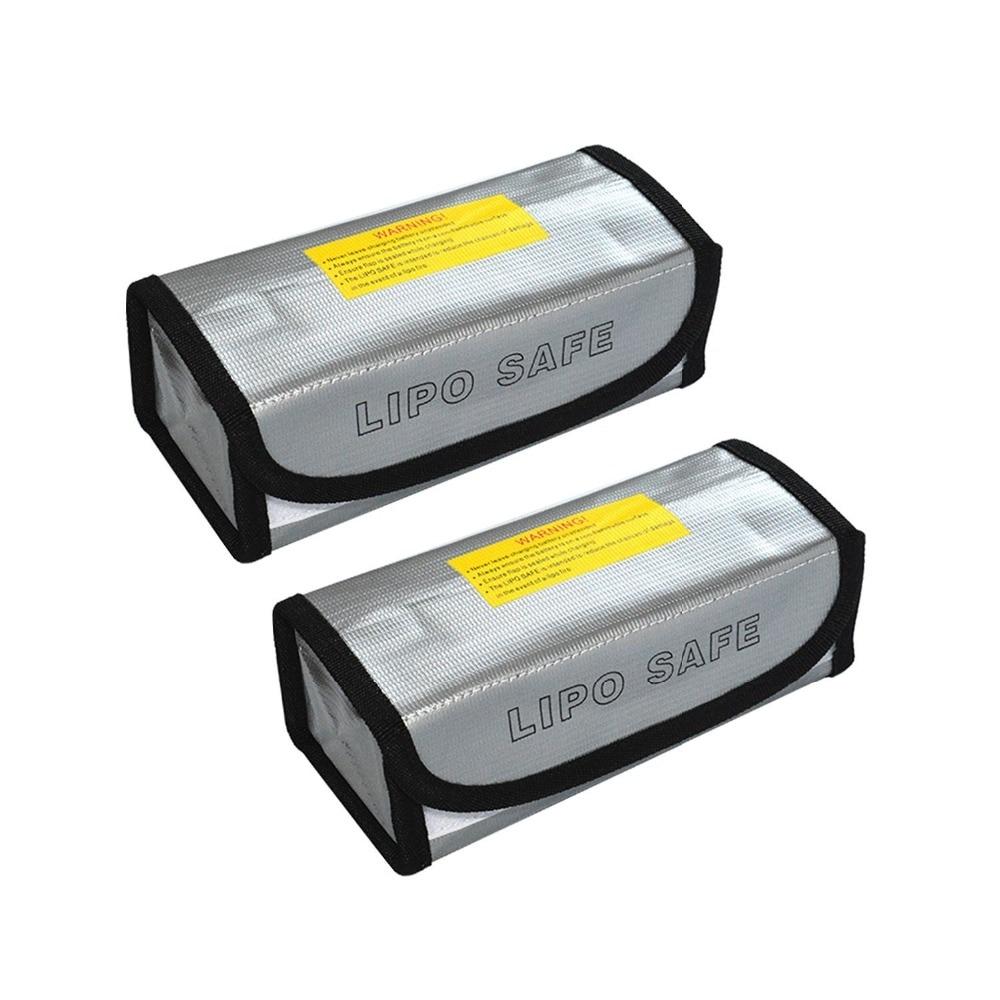 2 pcs Fireproof Explosionproof Lipo Battery Safe Bag Lipo Battery Guard Safe Bag цена