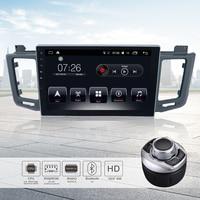 Android 7,1 10,1 dvd плеер автомобиля стерео радио gps навигации Bluetooth 64Bit 4 ядра 2 ГБ/16 ГБ авто радио для Toyota VAV4 2014