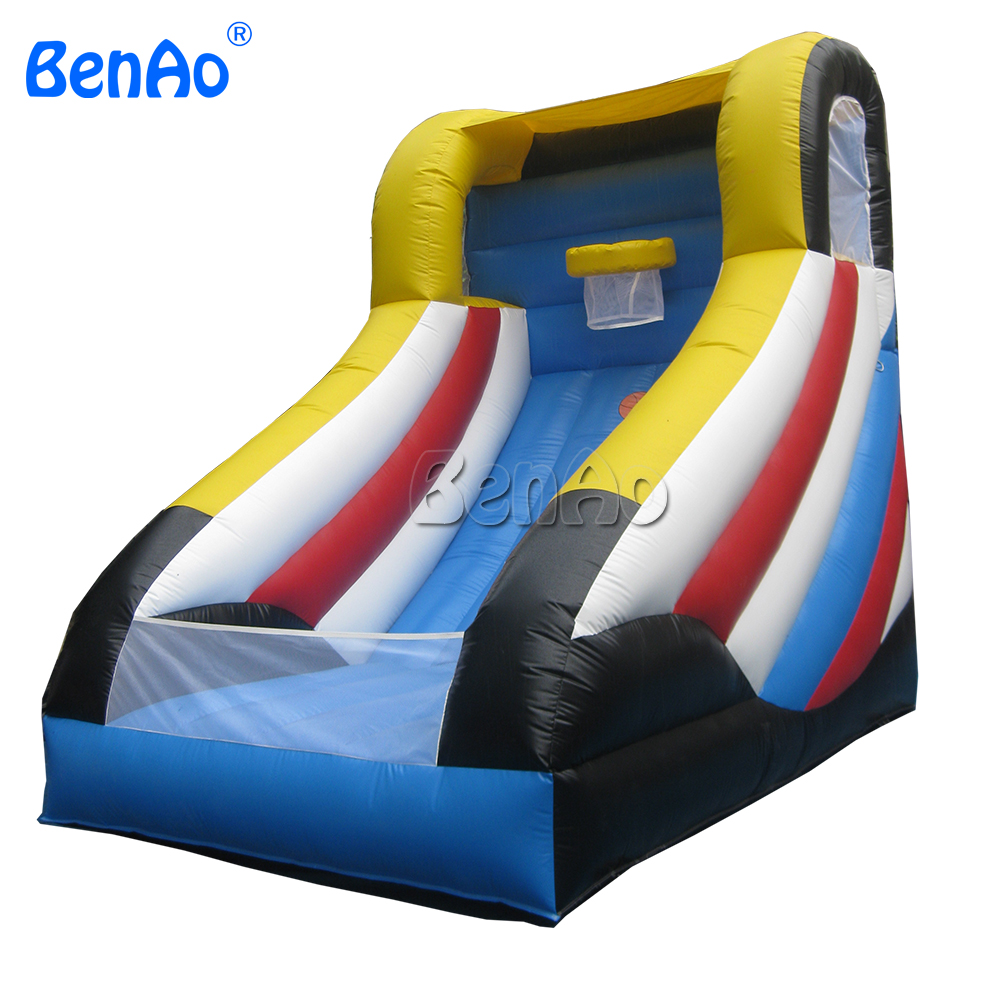 S032 Crazy Price Inflatable Basketball Game Stand 0 55mm