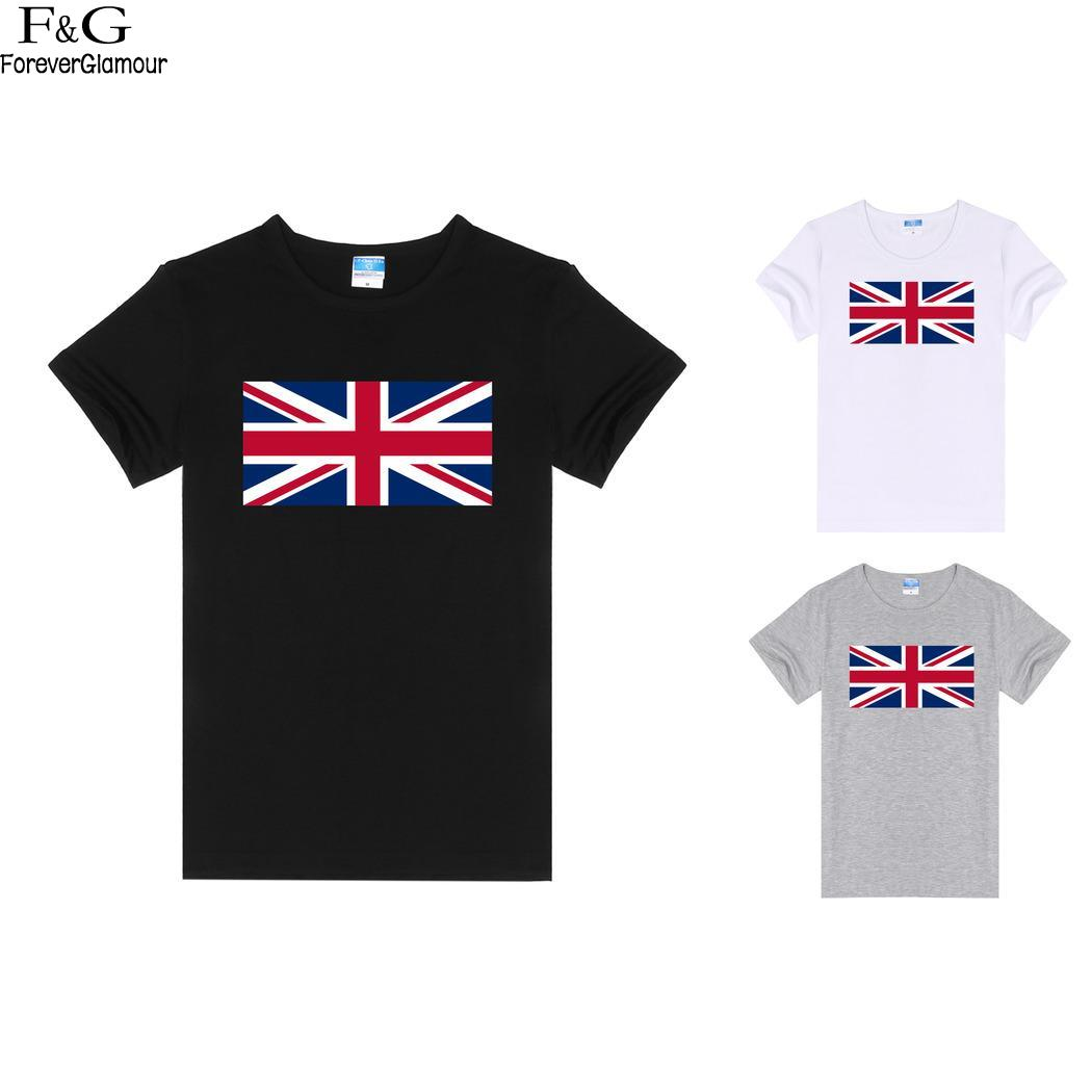Solid Casual Women O-Neck Short Sleeve T-Shirt The national flag